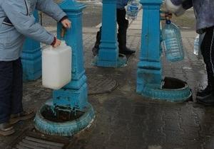 Бюветы в Киеве сделают платными