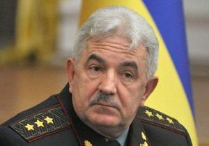 Начальник Генштаба на юбилей получил от Ющенко генеральское звание