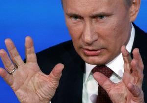 Путин отнесся  с иронией  к сообщению о внесении его в черный список в Финляндии