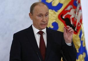 Путин считает, что СМИ не должны  торговать объективностью