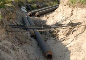 В Киеве произошла авария канализационного коллектора