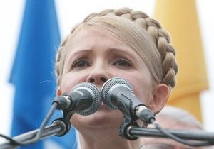 Тимошенко прокомментировала заявления журналистов 1+1 и СТБ о введении цензуры