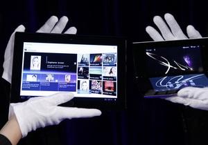 Sony представила свой первый планшетный компьютер