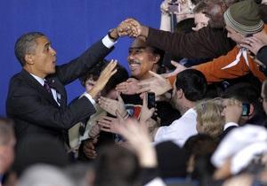 Активистам движения Захвати Уолл-стрит не удалось сорвать выступление Обамы