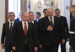 Путин взял курс на Минск, Среднюю Азию и Китай