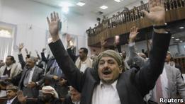 Парламент Йемена одобрил иммунитет для президента