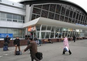 Пассажиров рейса Киев-Донецк не выпускают из автобуса на взлетной полосе в аэропорту Борисполь