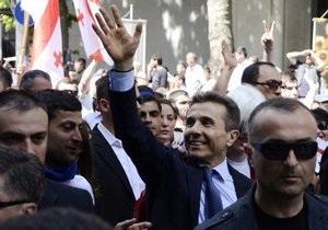 Иванишвили провел многотысячный митинг в Тбилиси