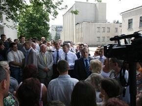 Харьковский фотограф умер при съемке Януковича