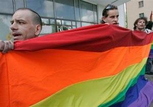 Милиция разогнала гей-парад в центре Минска