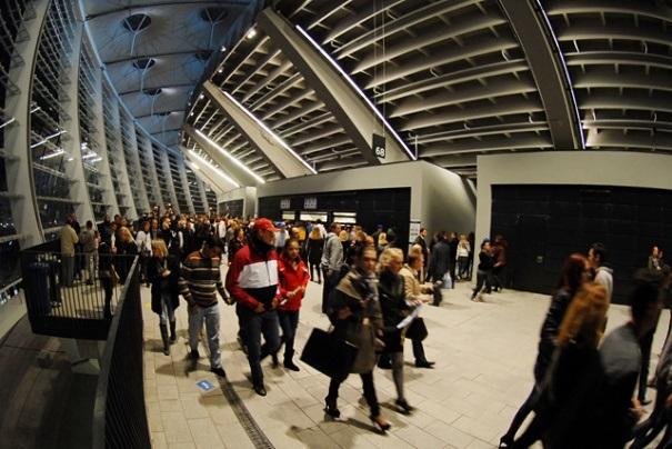 НСК Олимпийский торжественно открыт.