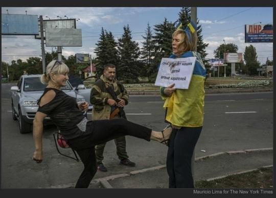 Беженцев из Донбасса в Ростовской области посреди зимы выгоняют на улицу - Цензор.НЕТ 9009