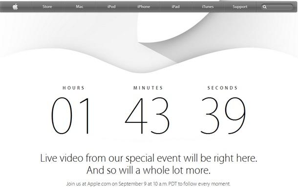 Осталось до презентации iPhone 6