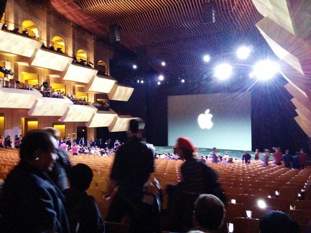 Презентация Apple начинается