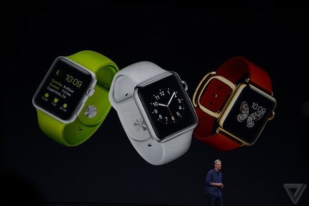 Презентация часов Apple Watch