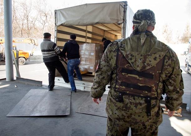 Плотницкий зарабатывает на торговле продуктами в «ЛНР»