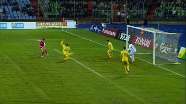 Люксембург-Украина: футбол онлайн