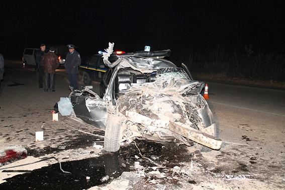 ФОТО: Смертельное ДТП: пьяный водитель врезался в маршрутку