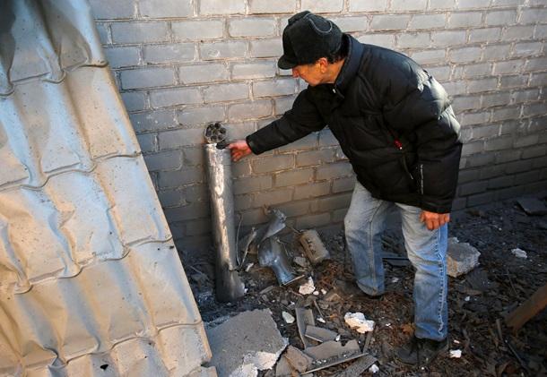 ФОТОРЕПОРТАЖ: Разгромленный Донецк