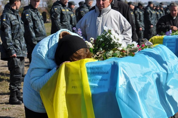 ukrajna donbas temetes