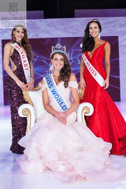 Студентка из ЮАР стала Мисс Мира 2014