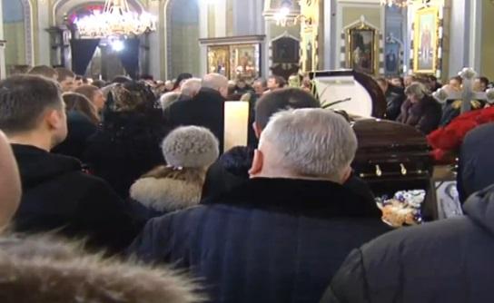 Прощание с Кузьмой Скрябиным во Львове: онлайн-трансляция