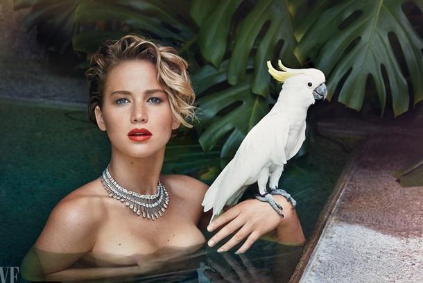 ФОТО: Обнаженная Дженнифер Лоуренс в Vanity Fair