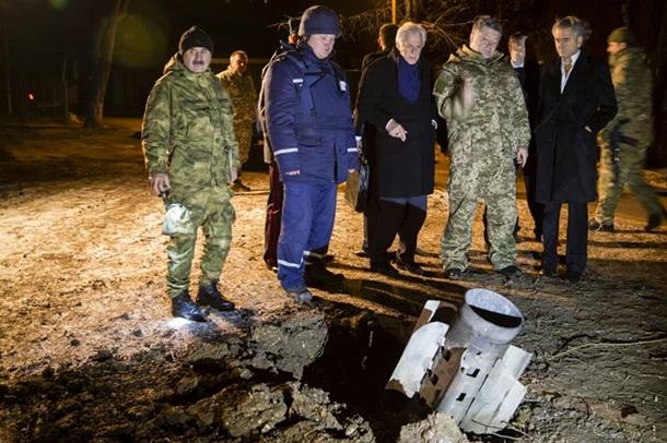 ФОТО: Ночной визит Порошенко в Краматорск