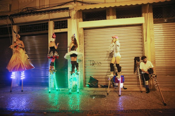 Рио готов к ежегодному карнавалу