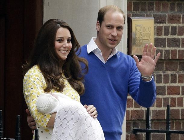 Герцогиня Кембриджская сегодня родила девочку (ФОТО)