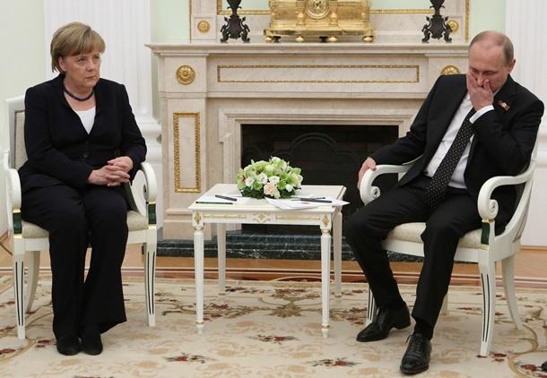 Меркель рада возможности обсудить с Путиным ситуацию в Украине <!--more--/></a> </div> <a href=