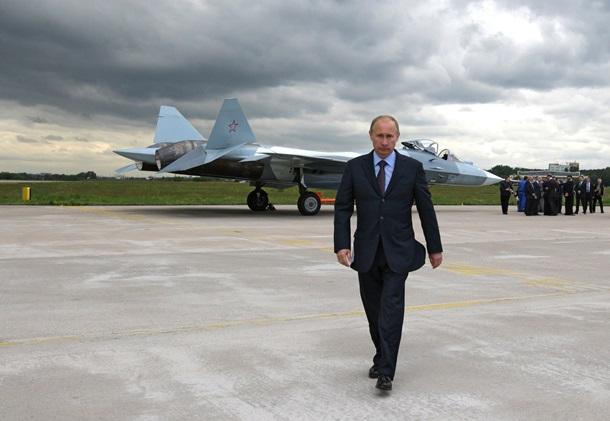 """Путин на фоне Т-50. """""""