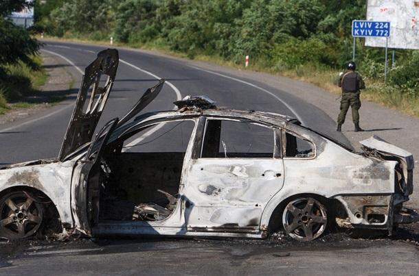 Кровавая перестрелка в Мукачево: все подробности (фото, видео)