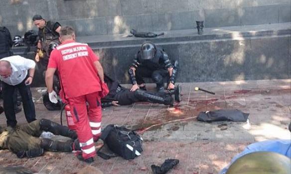 Видео,Фото: Момент взрыва под Радой