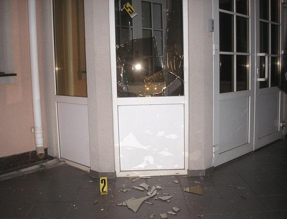 У Рівному кинули гранату в будівлю облпрокуратури