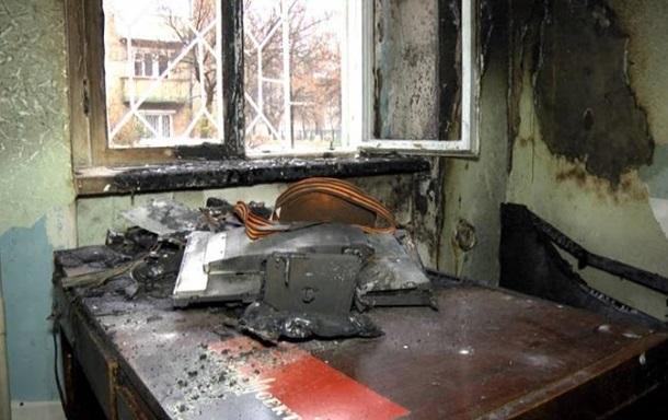 УСумах підпалили волонтерський центр допомоги українським військовим
