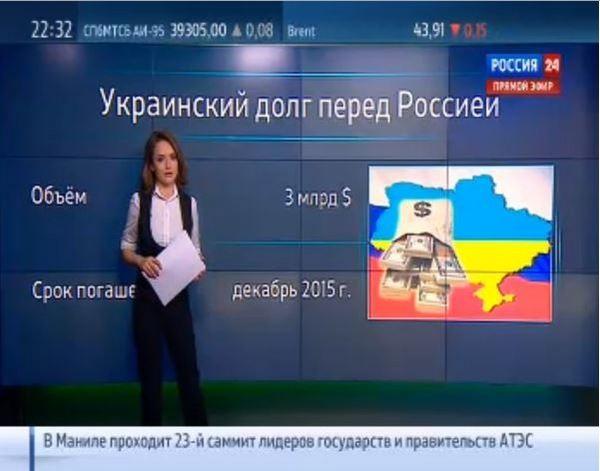 Телеканал Россия 24 показав карту з українським Кримом