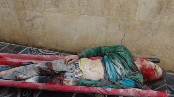 Армия РФ разбомбила рынок в Сирии