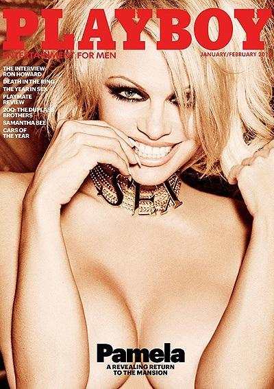 Памела Андерсон снялась в эротической фотосессии для Playboy
