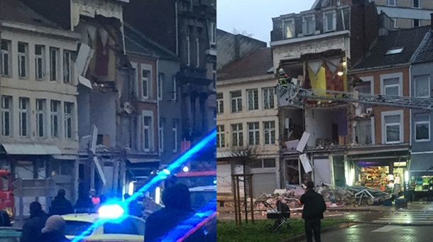 УБельгії врезультаті вибуху вжитловому будинку поранено 11 осіб