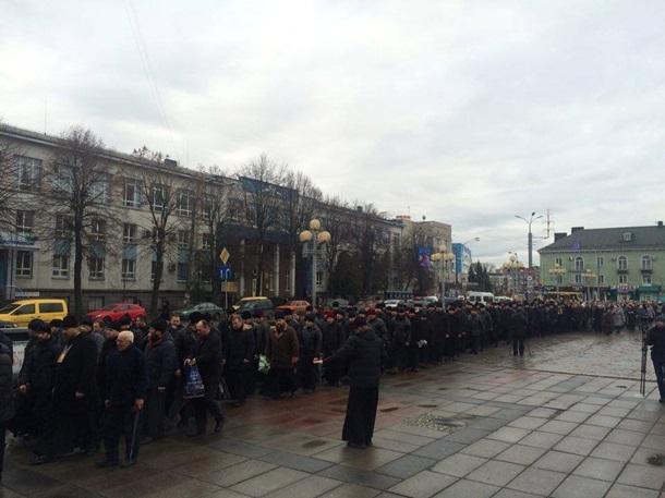 Православні Рівного вимагають звільнити заступника губернатора