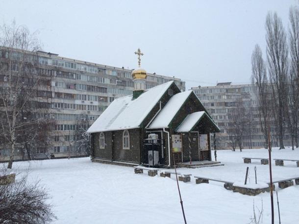 УКиєві підпалили храм Московського патріархату