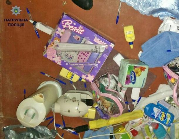 Ограблен детский сад в Деснянском районе Киева