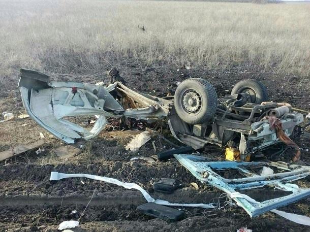 Новые подробности взрыва под Марьинкой