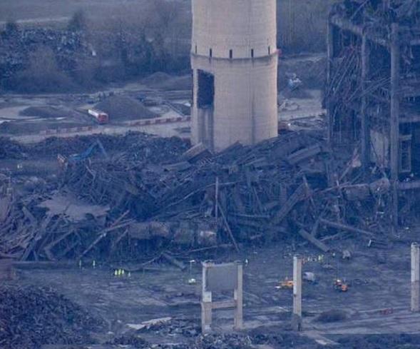 На электростанции в Англии произошел взрыв