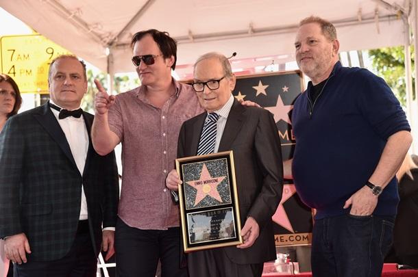 Эннио Морриконе получил звезду на Аллее славы в Голливуде