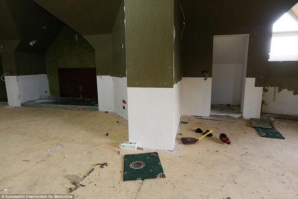 Daily Mail показала дом Пшонки до и после погрома