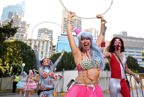 В Сиднее премьер-министр посетил гей-парад