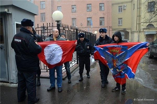 В Санкт-Петербурге атаковали консульство Украины