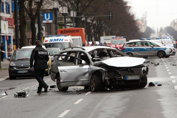 В Берлине взорвался автомобиль, водитель погиб